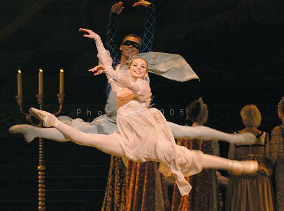 Image result for ballet romeo and juliet prokofiev