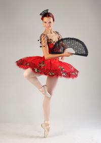 Hermitage Theatre prima ballerina Ilmira Bagautdinova. Click to enlarge