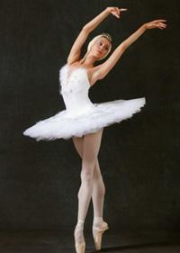 Hermitage Theatre prima ballerina Elena Kotsubira. Click to enlarge