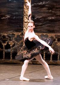 Hermitage Theatre prima ballerina Natalia Potekhina. Click to enlarge
