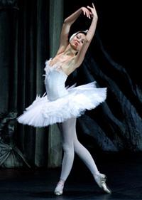 Hermitage Theatre prima ballerina Valeria Vasil'eva. Click to enlarge