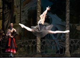 Hermitage Theatre prima ballerina Tatiana Tkachenko. Click to enlarge